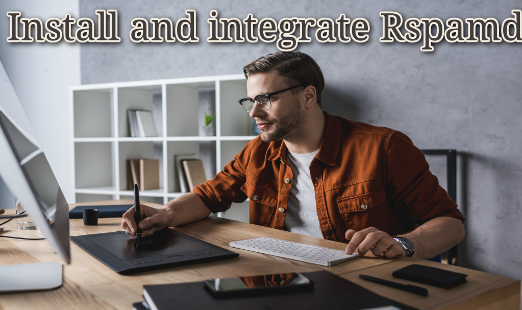 Install and integrate Rspamd postfix